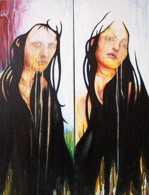 double portrait - Aymeric Dechamps