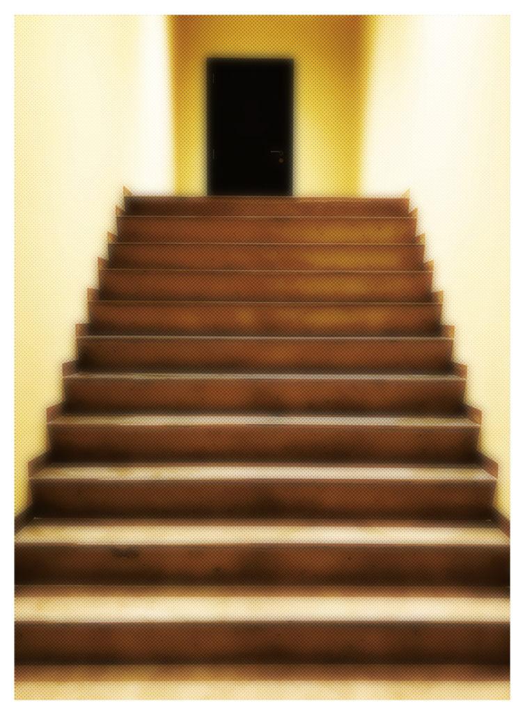 """LA porte noire"", Photographie de l'artiste Eva NUBLADO."