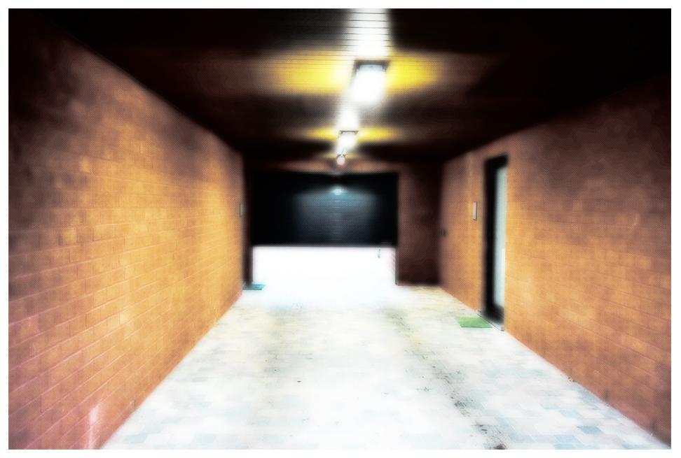 Le Passage, photographie de l'artiste Eva Nublado.
